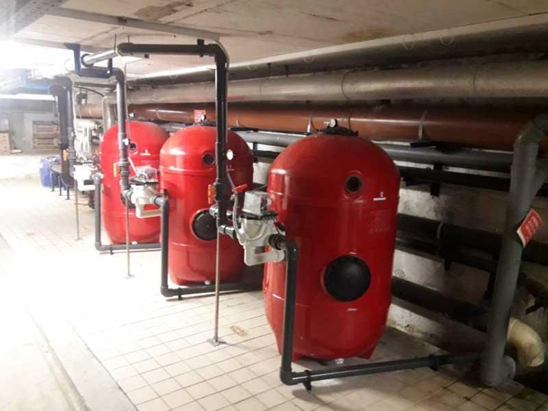 Ekoling pool filtration thermal baths Slovenia