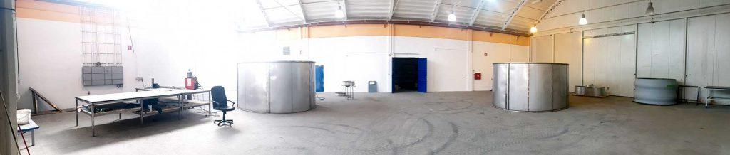 Ekoling Jesenice nova poslovna stavba delavnice čistilne naprave