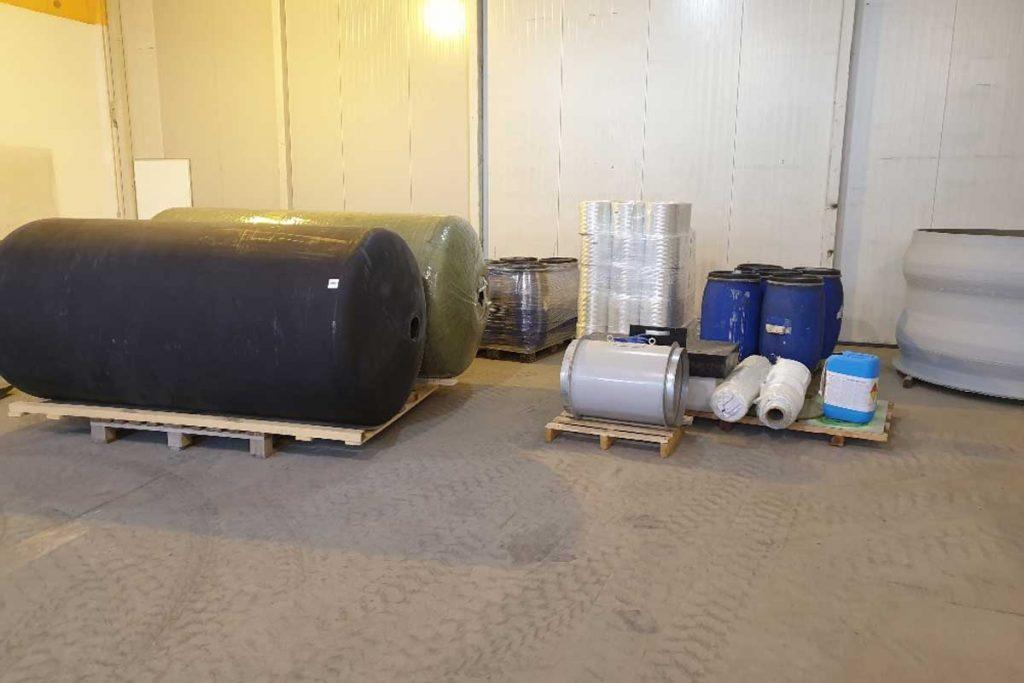 Ekoling pridobitev stroja za izdelavo poliestrskih posod